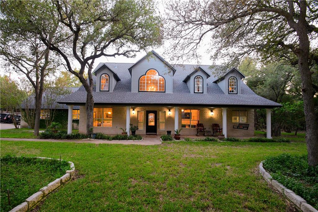 """If you're looking for a place to escape the crowds of the city, but still just minutes away...then, you've found it! This beautiful, Inviting home boasts over 2.5 acres. (Rare Find)  The home has been freshly painted and the interior is ABSOLUTELY Gorgeous! Lots of beautiful colors mixed with designer hues and sparkling fixtures inside. Great Custom """"Pinterest"""" Fireplace, Bonus rooms, and Detached Guest House Casita. This home is move-in ready. With Beautiful 30 to 40 foot Oak Trees throughout the entire property, Complementing the well-manicured and maintained yard.  The property has plenty of storage space perfect for your RV or Boat and Plenty of room for a garden. The front and back porch have gorgeous views of the property from the front and back. (Carport EXCLUDED) The Back porch is perfect for entertaining and spills out to the HUGE Backyard. The outdoor living space is Awesome with a full kitchen, sink, fire-pit, and fridge.  Minutes from Austin, and easy access to the main roads. The Property Backs up to Brushy Creek Sports and Skate Park with Miles of walking and biking trails. Walking distance to several excellent Leander-ISD schools, as well as several great Restaurants/Entertainment."""