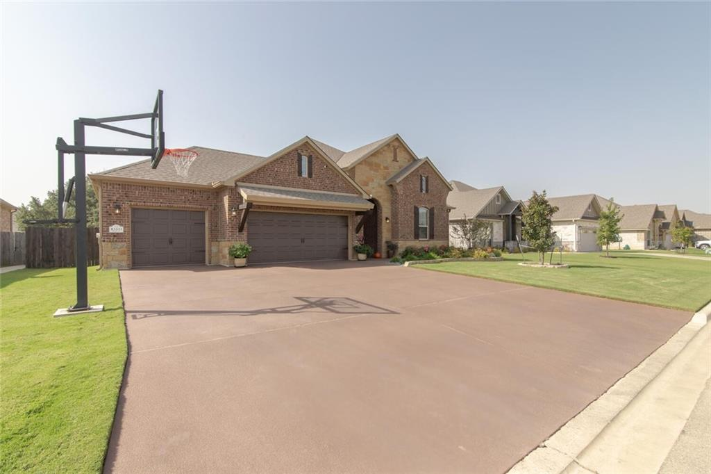 WOW! This is Better than new. No detail has gone untouched in this home!! Beautiful rare find in Belton ISD. This Home is a MUST SEE! This is a four sided brick home, completely landscaped with an extended covered patio that includes a private outdoor fireplace. Relax and enjoy BBQ and spending time in your out door oasis. Welcome Home to 4 Bedrooms and 3 full baths make up 2321 sq ft in The Grove at Lakewood Ranch. Zoned for Lakewood Elementary, Lake Belton Middle School and the brand new Lake Belton High School! Inside, you'll enjoy the open concept living/kitchen, perfect for entertaining. There isn't an upgrade this home doesn't have! Your utility bills will stay nice and low with Spray foam insulation. Even the drive way and garage have impeccable upgrades, to include concrete polymer drive way with commercial basketball goal, 3 car garage with epoxy garage floor. This is one of the last lots that has the benefits of the mature shade trees! HOA includes a swimming pool and playground.Don't miss out on this home. Schedule your showing today! Agent Only Remarks:   All electronics, decor and appliances are negotiable. Directions: