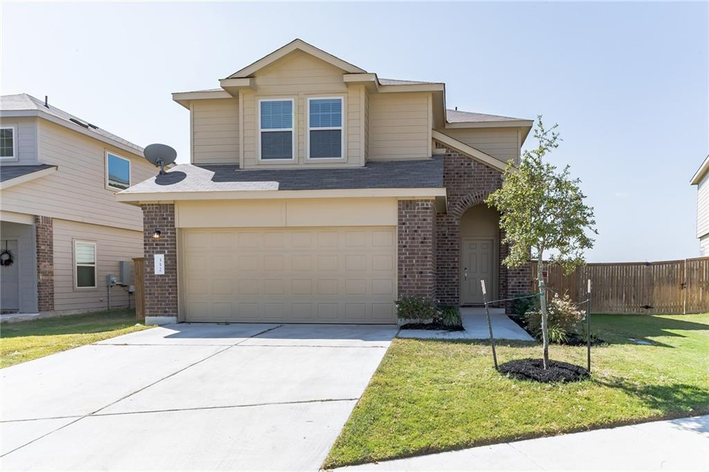 Beautiful home located in Jarrell, TX! 3 bedrooms, 2.5 bathrooms and 1,687 square feet. Large open concept living room that is open to kitchen! All bedrooms are upstairs. Tile and carpet throughout. Large backyard with covered patio! Awesome community amenities. Great neighborhood.