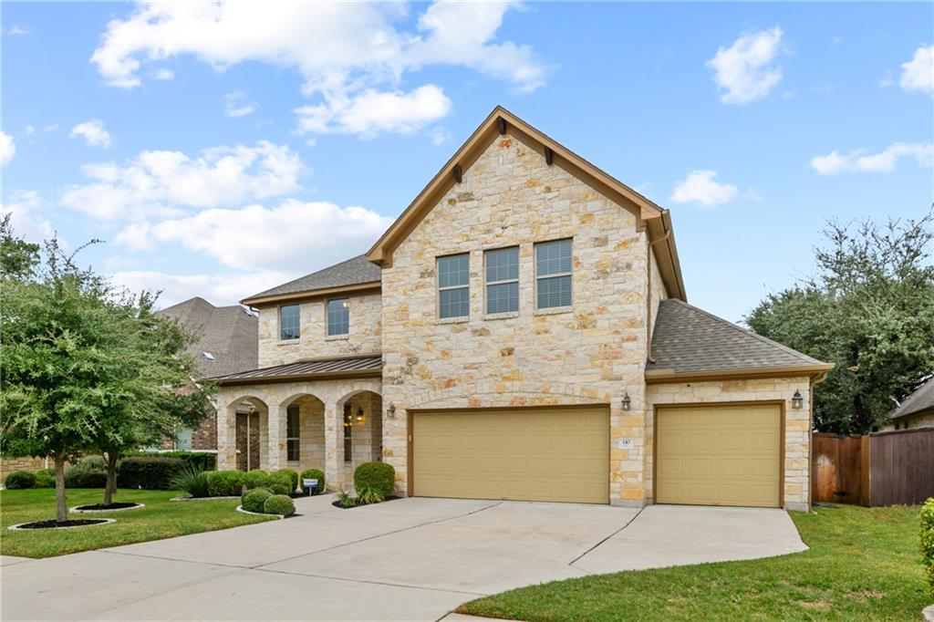 Ready to move in home in the Ranch at Brushy Creek.  4 bedrooms, 4 full baths!  Formal dining, large breakfast area. Guest suite with full bath downstairs and bedroom with on suite bathroom upstairs. Large lot, wrap around covered patio, great for entertaining. Open to below floor plan.  Low traffic street.  Round Rock ISD, Patsy Sommer elementary. New paint throughout the house.  Wired for stereo. Offers will be reviewed by sellers on Monday.