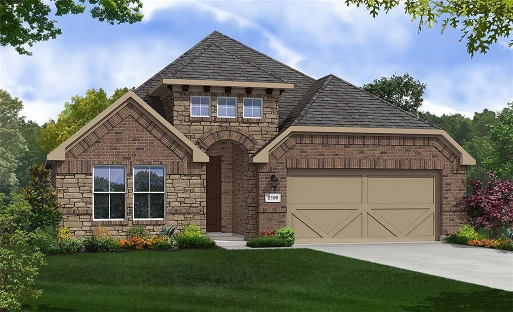 Popular Juniper floor plan with features that include light cabinets, custom tilework and backsplash, wood patterned vinyl plank flooring, walk in pantry, kitchen island with granite counters, walk in master closet, full gutters. Available February.