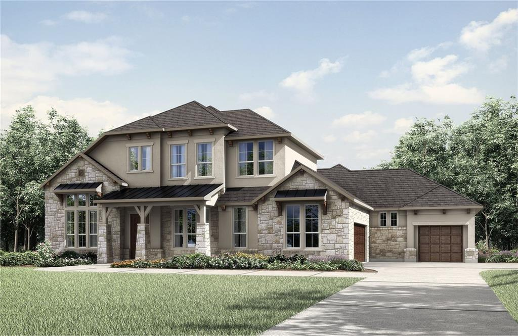 High ceilings, arches, and niches characterize the Colinas II in Clearwater, lending it a graceful elegance. From the foyer you pass a formal dining room and a spacious study -- a perfect arrangement for entertaining clients or guests. An expansive family room is matched by the trendy outdoor living area. The deluxe gourmet kitchen features a brilliant butler's pantry connecting to the dining room as well as an ample serving island, walk-in working pantry, and light-filled breakfast room. Keep organized and tidy with the family ready room that includes a sink and countertops. Bedrooms flank this main-floor living space: a second bedroom suite on one side, and on the other, the immense owner's suite with its large walk-in closet and breathtaking luxury tub and glass shower pairing. Upstairs, there are three bedrooms, a gameroom, and a media room.