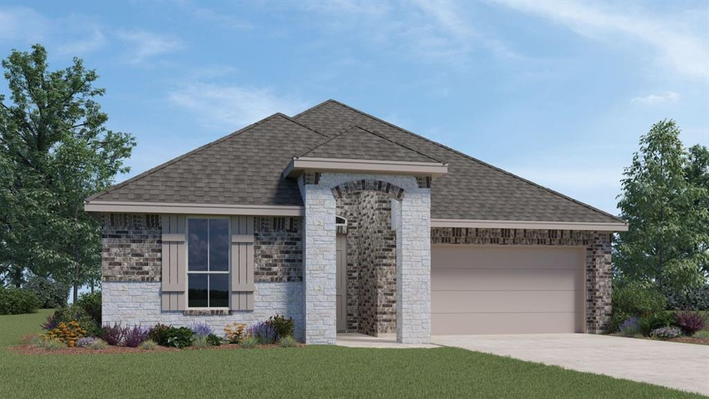 """UNDER CONSTRUCTION - EST COMPLETION IN FEB/MAR 2021.  New construction!  BRAND NEW pristine Hill Country community is within 10 min of everything Cedar Park/ Leander/ Liberty Hill have to offer. Next to the new HEB coming 2021. The Driftwood is a 1 story masterpiece with a gourmet kitchen featuring silestone counter tops, 42"""" high cabinets, stainless steel NATURAL GAS appliances & a island. Create your own backyard escape with a sliding glass door to the covered patio. Vinyl plank flooring, 8' interior & exterior doors, upgraded faucets, framed bath mirrors, frameless shower glass, technology package, full sod & irrigation...too much to list! This one will not last long! Call TODAY!"""
