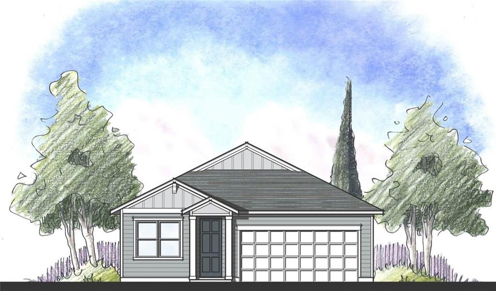 This Sweetwater is a 3 bedroom w/flex area! The beautiful kitchen w/island is overlooking the family room. This home has 42' upper cabinets, quartz counter tops, Wood type floors in main areas. A sliding glass back door opens to a huge covered patio. Our homes feature 2x6 exterior walls and have extra thick insulation for great energy efficiency.