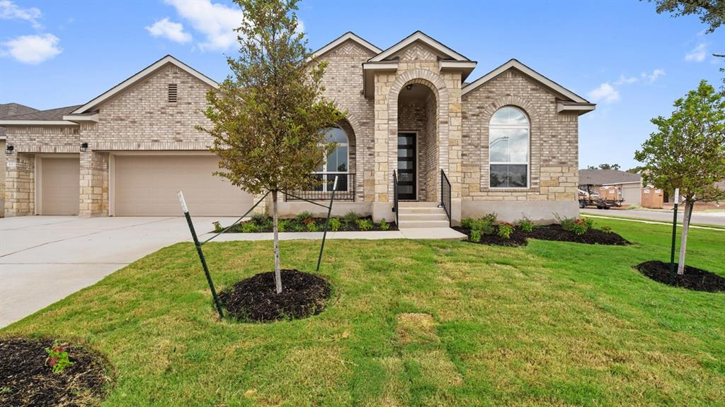 New Construction READY NOW. Corner lot, Mansfield II floor plan has a breath taking walk in shower in bathroom 1, a formal dining room, has a 3 car garage, and large back patio! Definitely a must see, so come explore Lively Ranch and enjoy the serenity of a community surrounded by heritage oaks just off the hwy 29 corridor.