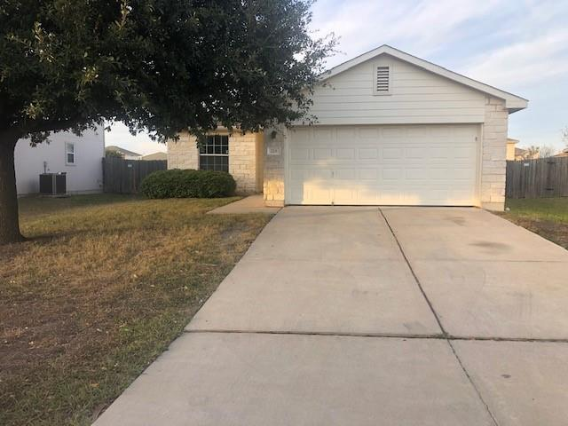 Wonderful starter home in a great community! Low tax rate! Open plan ! Large Pantry!  3-2-2  Owner has done some updates this month which include Carpet, recent paint, Stainless appliance's installed.  Private- Good size back yard for the kids or outdoor entertaining! Community Park & pool!