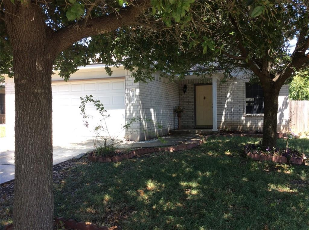 Smart buy @ bargain price!!! Great one story home with  3 beds and 2 full  baths in Leander ISD~ Hard  to  find  a  single  story  house  in  a safe  and peaceful  subdivision  at  this  price!!!