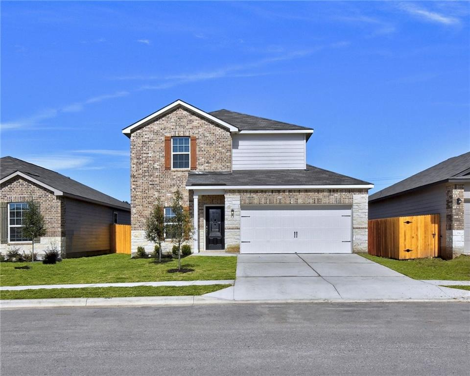 The Carson plan is a beautiful, two-story home located in the community of Liberty Parke. This home has 3 bedrooms, 2.5 baths and an attached 2-car garage. Inside, you will find thousands of dollars in upgrades including stainless-steel appliances, stunning wood cabinets with crown molding, sparkling granite countertops, and a WiFi-enabled garage door opener. On the outside, the Carson has incredible curb appeal with a luxurious brick and stone exterior, covered entryway and front yard landscaping.