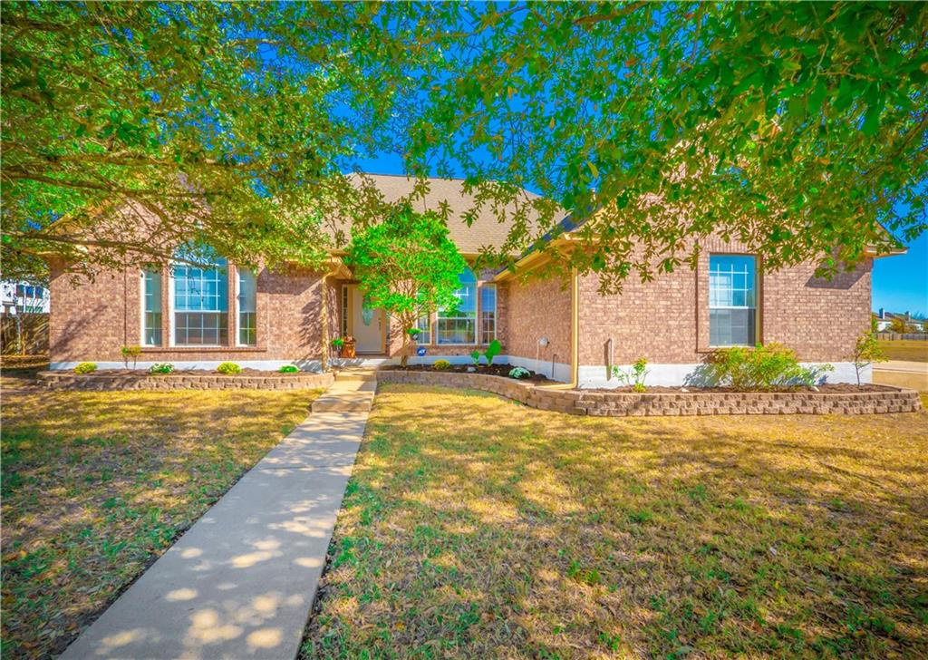 This home sits on a Texas size lot with NO HOA! Totally updated everywhere with fresh paint, new, waterproof and pet proof, vinyl plank flooring, luxury Stainmaster carpet, new Whirlpool stainless steel appliances and a new water softener! Beautiful gourmet kitchen with built-in gas cooktop, and granite counters. The property shares a border with a lovely greenbelt! See it today!