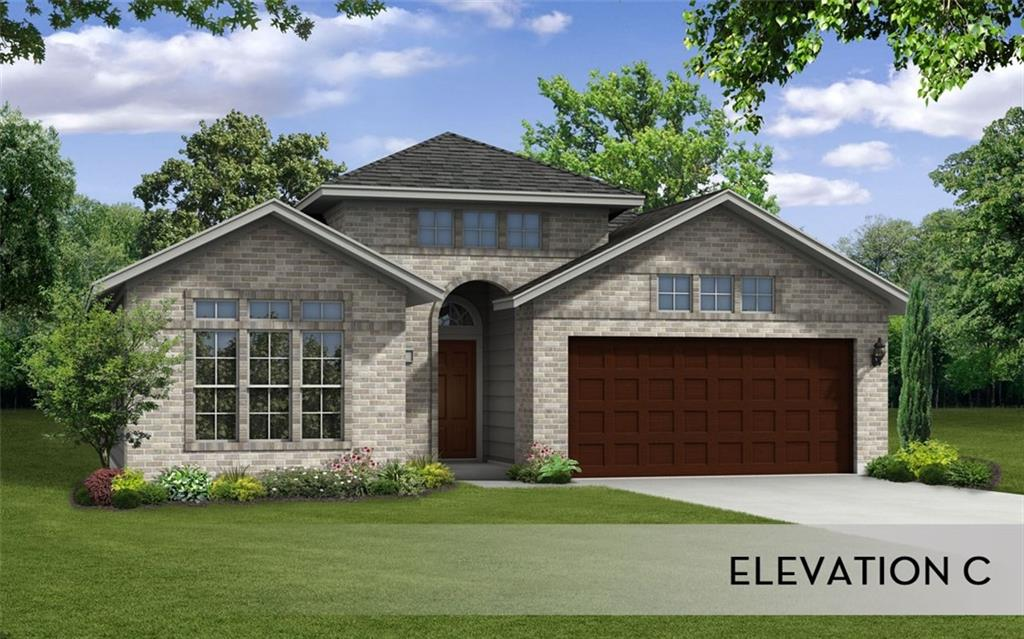 The Greeley plan provides three bedrooms and two baths and features a curved kitchen island overlooking an expansive dining and family living area. The oversized pantry and master closet put the space where you need it.