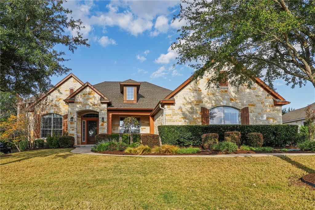 One owner, immaculate, David Weekly home in the gated Fairways section of Crystal Falls. Primary bed on the main floor on one side, and 2 additional beds with a game room between them on the other side. Large office and library as you enter, continue to the chef's kitchen opens to the family room and breakfast area with windows to the backyard.  Large Pantry leads to a full 3 car side entrance garage.  Upstairs is an additional bedroom with a full bath and a huge game room with custom cabinets. Tall ceilings throughout.  The Fairways is a gated neighborhood with walking trails, a golf course, and a Starbucks all 5 mins away.
