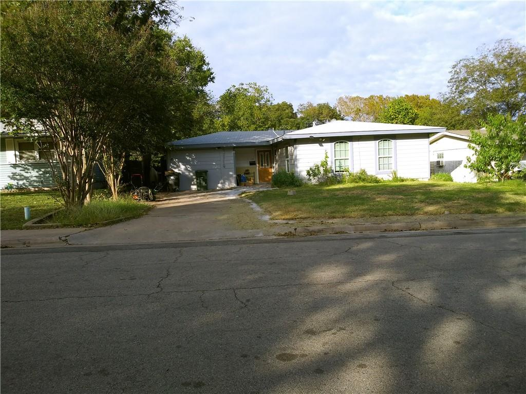 Well kept home for a good family. Shiny wood floors with a bonus room and a large dining room.  Outside has a covered porch and storage shed.  Privacy fenced and big pecan tree.  It is a good home, come and see.