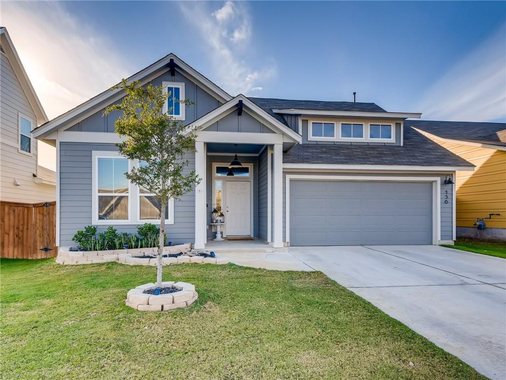 WOW WOW WOW~ Meticulously maintained 4 bedroom with Study! Over 20k in upgrades including lighting, hardware, kitchen & back patio! This one story dream home features perfect layout for mother-in law plan!  Separate bedroom up front along with large office/study. Kitchen is open to family and dinning and features, ample storage, white cabinets, Quartz counter tops, and large kitchen island for eat in vibe and HUGE pantry/laundry room! Tons of natural light , Second and third bedrooms nestled off the kitchen along with guest bath.  Great entertaining space in the living room open to kitchen and dining! Master bedroom tucked away separate from all other bedrooms, master bath features double vanity sinks, walk in shower and walk in closets!  The crown jewel of this home is the extended back patio over 200 added sq ft  with added storage is an entertainers dream!  Community features, dog park, pool, playground, hiking and biking trails and more!!!