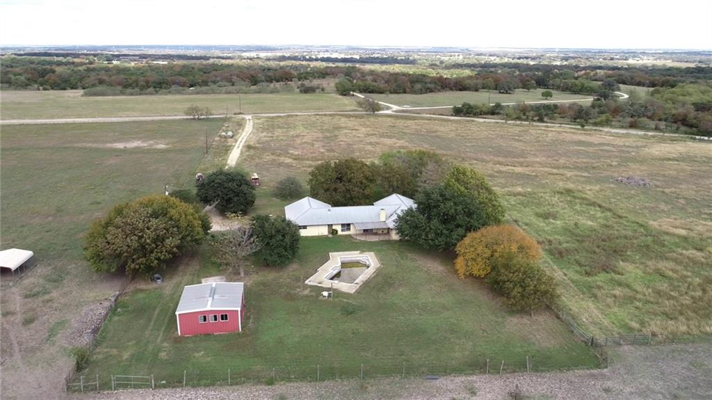 Great opportunity for gentlemen's ranch! Pasture land, home being sold as is and can be finished out to be the home of your dreams! Ponds, views, seclusion, make this your own getaway or estate of your dream! Buyer to verify all information.