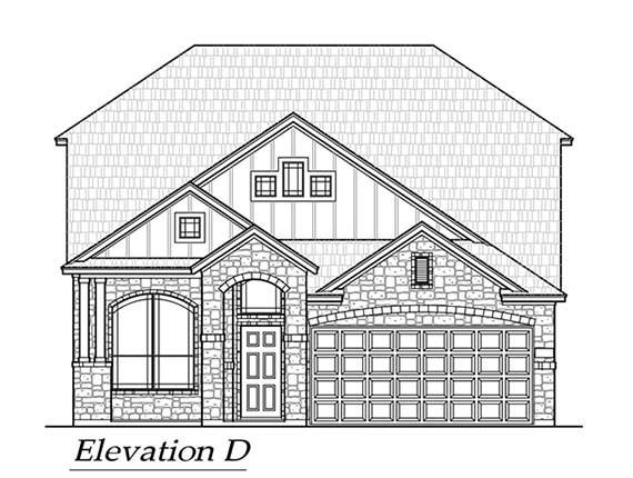A gorgeous new built by Chesmar family home with 4 bedrooms, 3 bathrooms, and a game room! With 15' of green space behind the home you have no neighbors on your back fence! Stunning upgrades include a porcelain farmhouse sink with an apron. The cherry on the cake - 3' front garage extension so you can get that truck in there!
