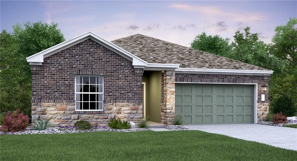 Pierson Plan.  Great 4 bedroom 2 bath home in a cul-de-sac that has partial hill country view off the back patio.  Located in the 2020 Master Planned Community of the Year.  Estimated January 2021 completion.