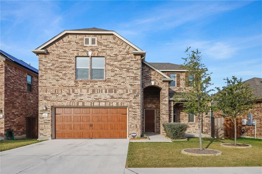 Beautiful meticulously maintained 4 bedrooms, 3.5 baths home in Pflugerville ISD. Open concept, filled with natural light, formal dining, Energy Star certified, and soaring ceilings. Tile and carpet flooring throughout. Water softener system and Reverse Osmosis water filter. Kitchen opens to the family room designed to entertain. Equipped with smooth top electric range, granite countertops, large center island with space for additional seating, and ample cabinetry for storage. Additional living area upstairs perfect for game or media room. First-floor spacious primary suite with dual vanities, separate shower, and walk-in closet. All other roomy bedrooms upstairs. Private backyard with covered patio ready for outdoor fun. Great location close to major highways and just minutes away from shopping. Community backs to Swenson park trail. A Must See!
