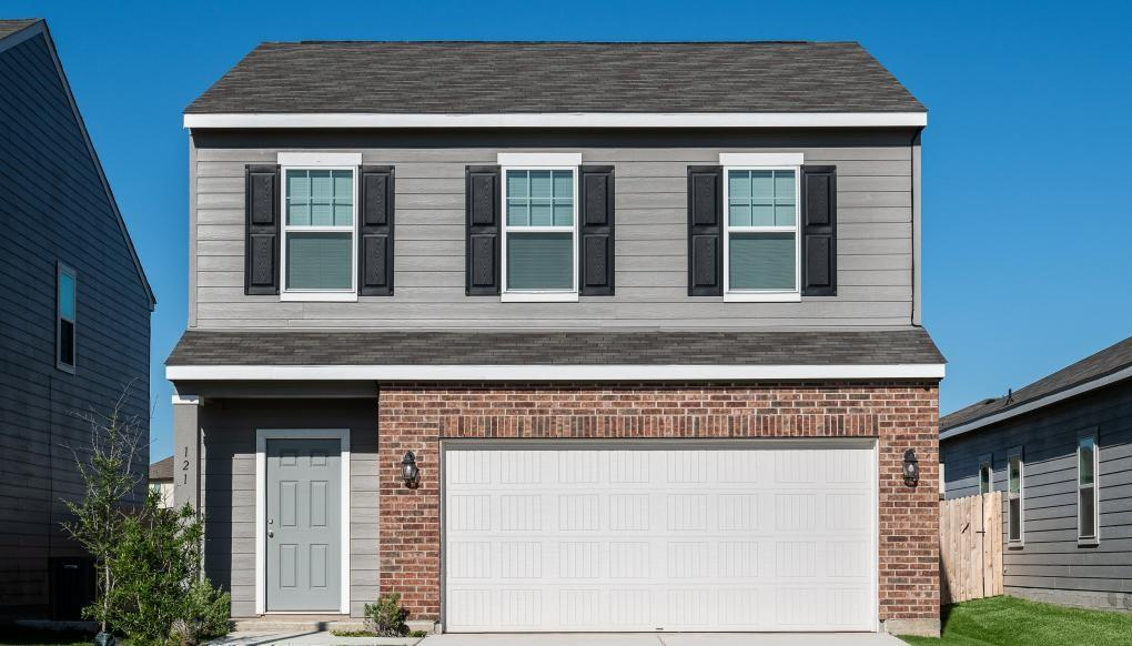 Lovely 3 bedroom, 2.5 bath, two-story home featuring many included features such as granite kitchen countertops, stainless steel appliances including refrigerator, LED lights, fenced in fully sodded yards and low-e windows.  Make this home yours today!
