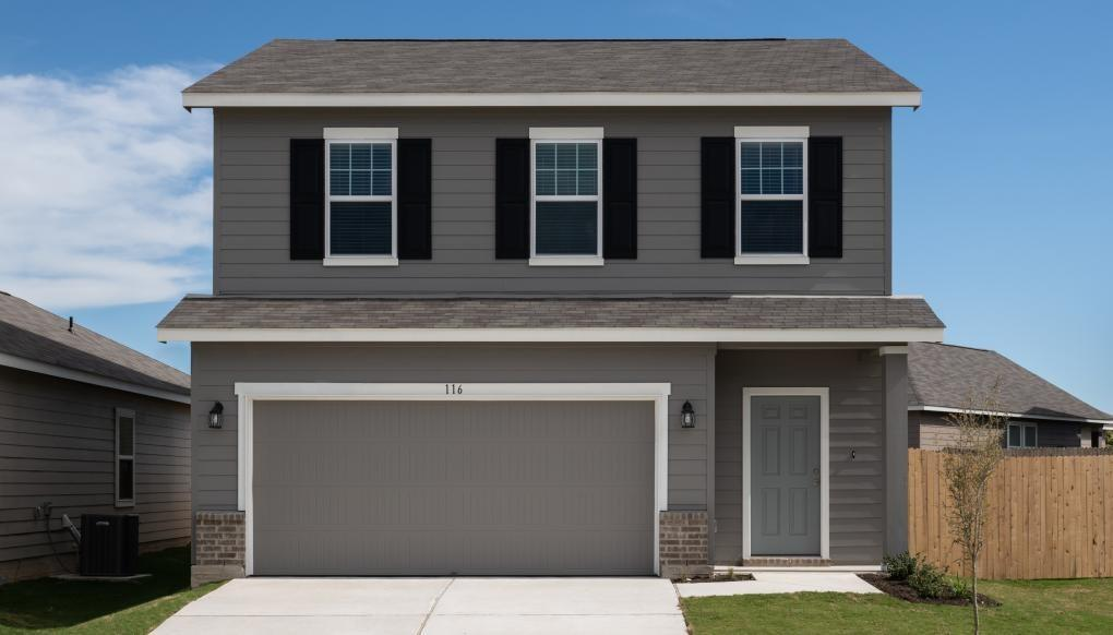 Beautiful 2 story home. Spacious layout with open kitchen/family room.  Gourmet kitchen with granite countertops and undermounted sink.  Stainless steel appliances – refrigerator, stove, microwave and dishwasher. Fully sodded yard. Huge Closets and storage. Ready to go March/April!