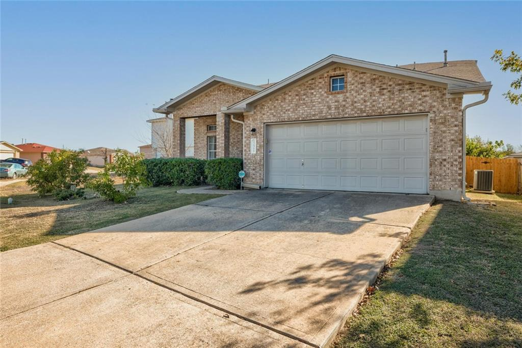 Elegant and well maintained 2 Story home in the North Austin suburb of Pflugerville with soaring ceilings and lots of natural light! The floor plan features laminate and tile floors, an open layout with the kitchen opening up to living room. Conveniently located downstairs master bedroom with a walk-in closet and a spacious master bathroom featuring dual vanities.  The backyard has a covered patio and extended patio deck perfect for entertaining and enjoying this wonderful space.  Upgrade list attached.  360 Virtual Tour of interior available to tour.  This property won't last long!  Schedule your tour today before it's too late!
