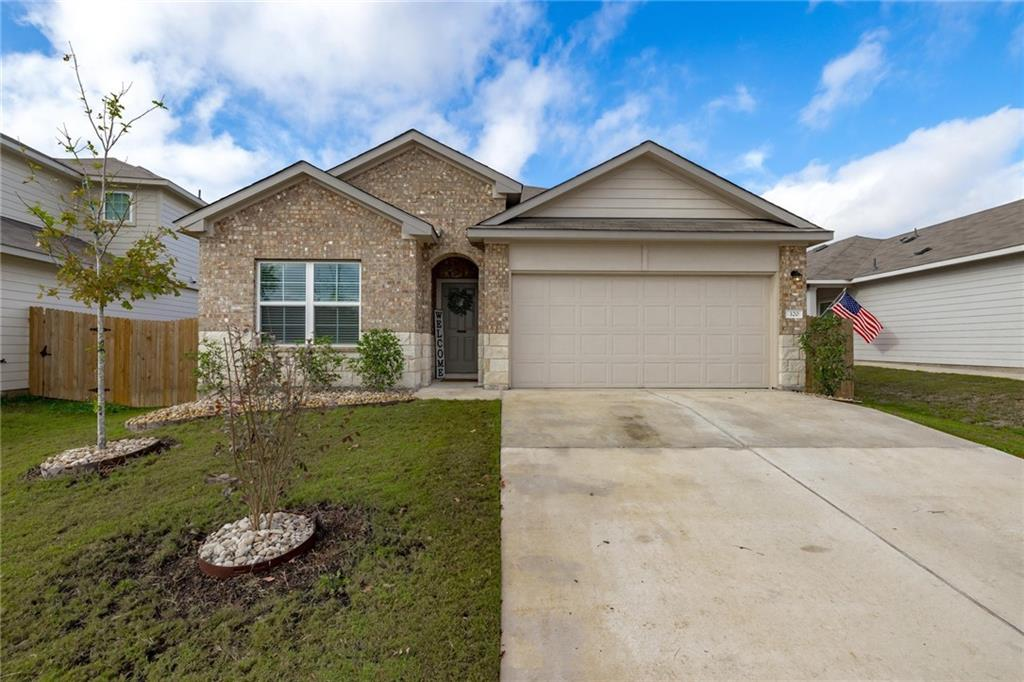 Like new, beautiful 4 bed, 2 bath home ready for your added personal style. Island Kitchen open to Family room. Stainless appliances, spacious bedrooms, and covered patio that overlooks large backyard.