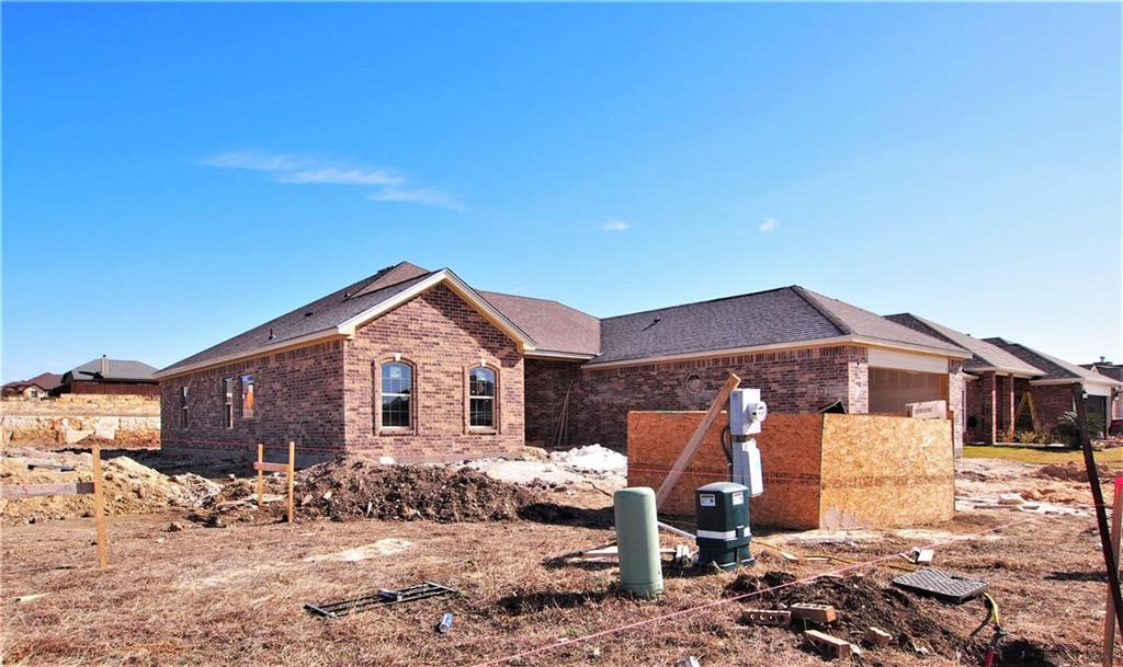 10 Minutes to Georgetown - 25 Minutes to Fort Hood! USDA Zero Down Financing Available on this home! ** Exterior features include 100% rock and brick exterior, gutters, a large covered front porch and back patio, garage door opener, and amazing landscape package with inground sprinkler system.  Interior features include tile floors everywhere except the bedrooms, custom real wood cabinets, real wood front door, recessed lighting, crown molding, granite countertops and stainless steel appliances in the kitchen, a fabulous master suite with sitting area and ensuite spa-like master bath, featuring a garden tub, walk-in shower, and MASSIVE, and I mean MASSIVE walk-in master closet with built-ins.  The list goes on! Do not miss out on viewing this Dale Cannon built beauty!