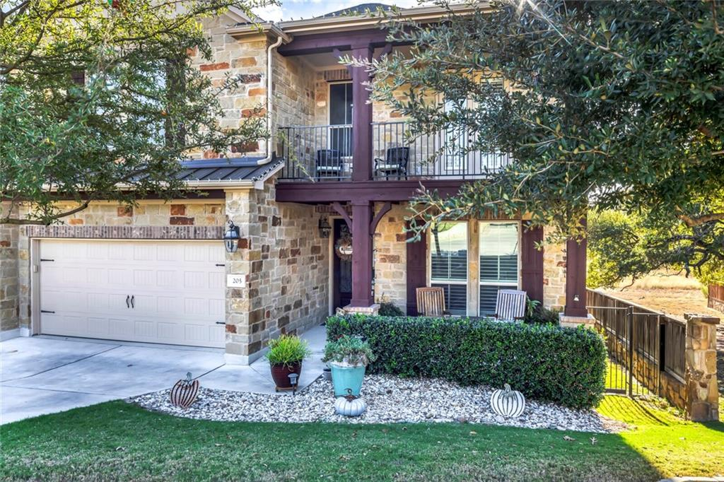 Gorgeous home with 5 bdrms (4 bdrms plus an office)& 3.5 baths. $40K Lot Premium that backs to relaxing green space with a $30k deck,outdoor fireplace,& $8k hot tub! Beautiful Open Kitchen w/Granite,SS appliances w/gas cook top & double ovens, & tons of cabinet space, Large Family Room with stone fireplace from floor to ceiling.Huge Master suite w/bay window and oversized shower. Spacious Game Room & Awesome Media Room with $7k worth of equipment. Plantation Shutters $11k. Amazing neighborhood with 100 acres of walking trails, 2 dog parks, fishing pond, community park & Pool.
