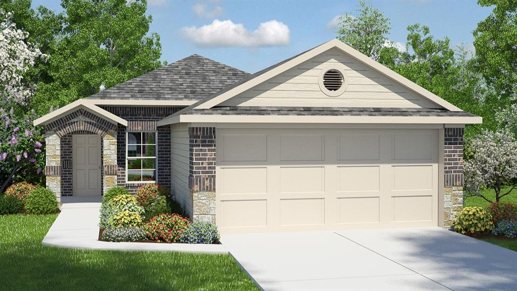 UNDER CONSTRUCTION - EST COMPLETION IN MARCH 2021.  This well appointed single story home features wood look vinyl everywhere except the bedrooms, granite kitchen counters, stainless appliances, gas cooking, double vanities in owners suite and our Home is Connected technology package! The exterior is set to enjoy with full sod, full irrigation and full gutters.
