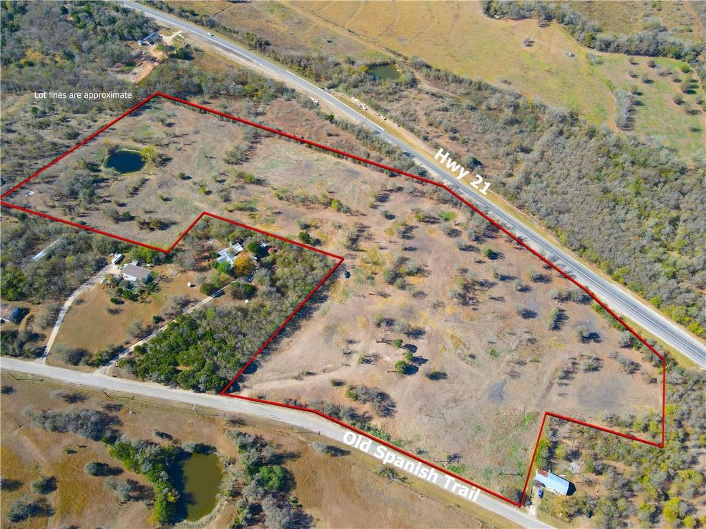 Development ready site with dual road frontage on Hwy. 21 and Old Spanish Trail with sweeping views to the NW. This site provides a great opportunity to fill the housing shortage in this rapidly growing area with many high density subdivisions and commercial sites currently being developed.