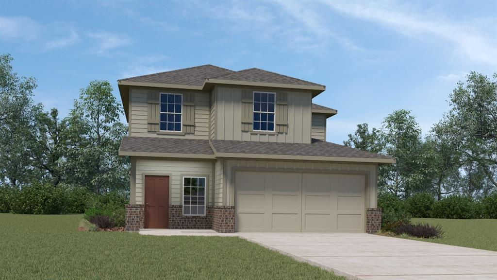 UNDER CONSTRUCTION - EST COMPLETION IN APR/MAY.  Detached condo with front yard mowed included in HOA dues. Open floor plan with vinyl plank flooring in entry, wet areas, kitchen and family/living area. Silestone countertops with undermount sink, decorative backsplash and stainless-steel gas appliances. 36' kitchen cabinets, Smart Home package, full sod and irrigation. Gutters included. Resort style amenities included in the exclusive Rancho Sienna Neighborhood