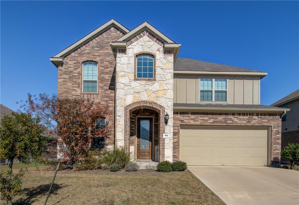 Beautiful Rosewood floor plan with private study with French doors, game room, 2-story family room, granite countertops, custom