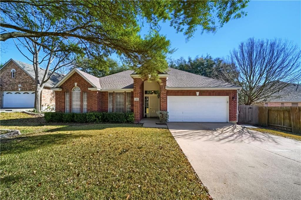 Beautiful single story in the Scofield neighborhood! The home features a great entry foyer w/ an open concept floor plan & mother- in law layout. It is a 3 bedroom with a study! A Chef's kitchen w/ great center island, gas cooktop, SS appliances w/ built-in oven. The dining room opens to the living room great for entertaining friends & family. The large windows give you an incredible backyard view. Enjoy your mornings & evenings in the tranquil setting on the expanded deck w/ access from the master suite. A great place to call home.  A must see!