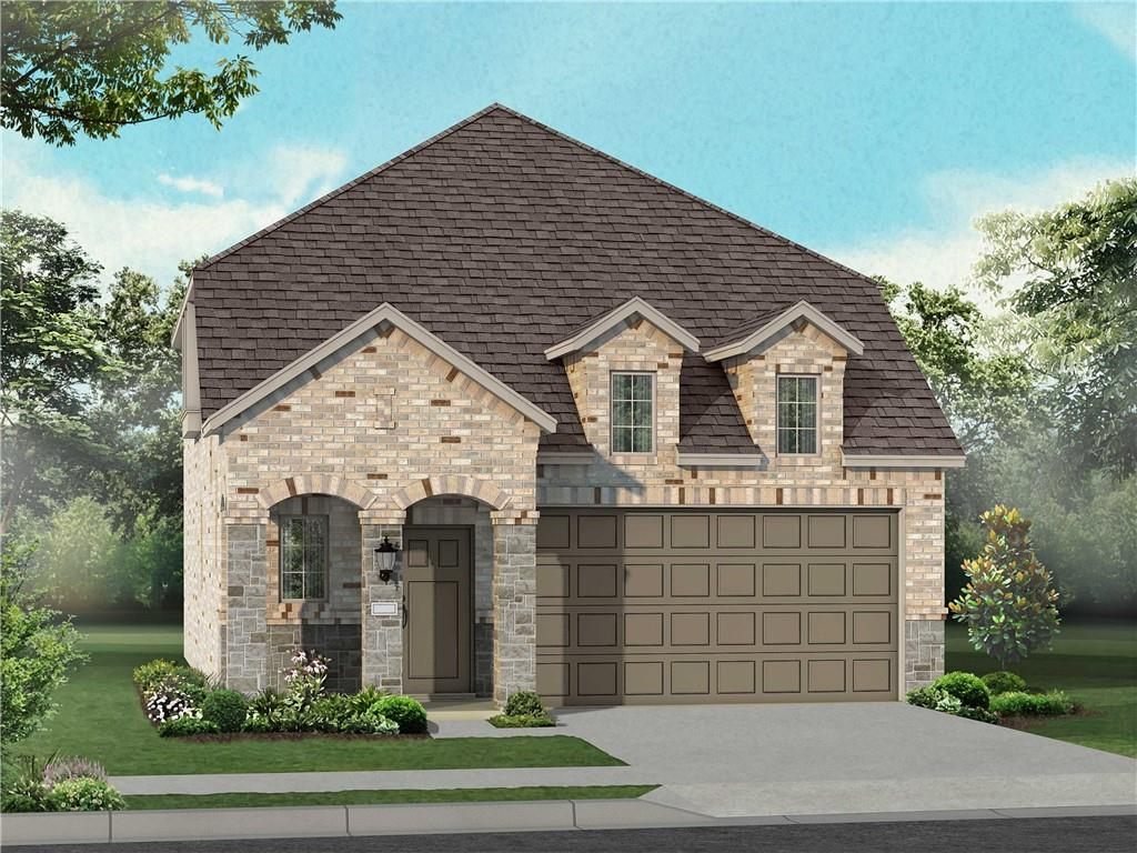 MLS# 3575030 - Built by Highland Homes - July completion! ~ Stunning 2-story home in Tessera with three bedrooms, 2.5 baths, master bedroom upstairs, with an extended outdoor patio area.