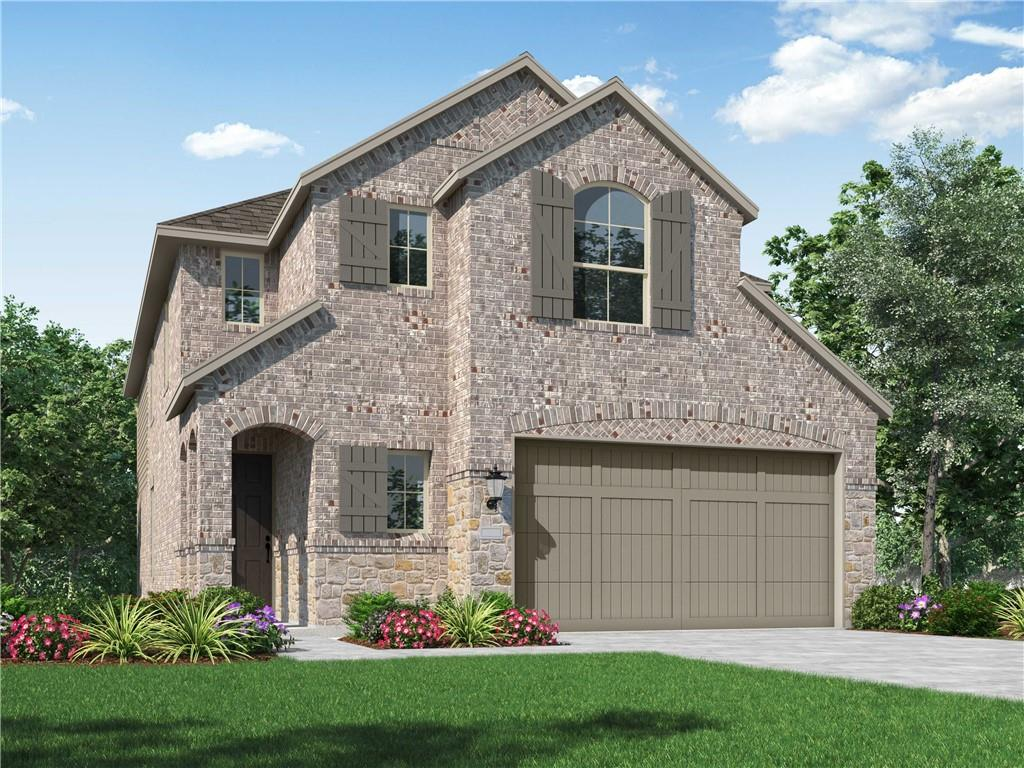 MLS# 9874688 - Built by Highland Homes - June completion! ~ Stunning 2-Story home with an extended outdoor living, additional 4th bedroom and 3rd full bathroom, stainless-steel kitchen appliances. Home features Vinyl wood flooring in common areas and entry.