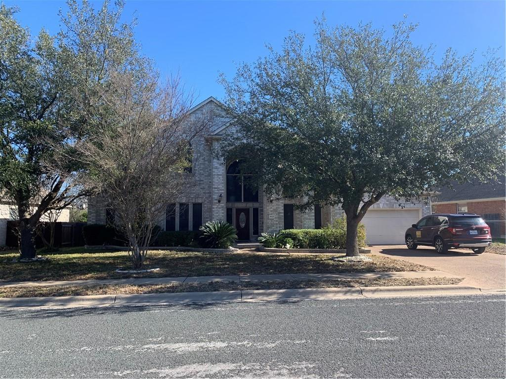 Largest home in neighborhood with 5 bedrooms & 4.5 baths. Kitchen upgraded at 20K with New washer, Dryer, Refrigerator, two 50 gallon water heaters and water softener. New wood fence replaced 3 years ago.  Front & Back patio and office stay Home to sell as is except for personal item belonging to owner. All furniture in 5 bedroom, Den, Living Room are negotiable This home is near HY 620, Loop 1, Round Rock Hospital, Bank and many restaurants.