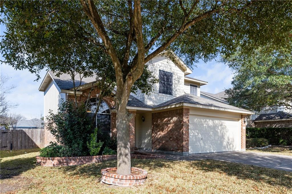 Ready to move in, new paint throughout the house, new carpet.  Amazing location, 5 minutes from Dell, easy access to Toll Rd, IH 35, Costco, and restaurants.  Community pool walking distance from the house. Original owner.  4 bedrooms upstairs, 2.5 baths.  Kitchen open to family room, laminate flooring and tile downstairs.  Covered patio and extended deck, great for entertaining.