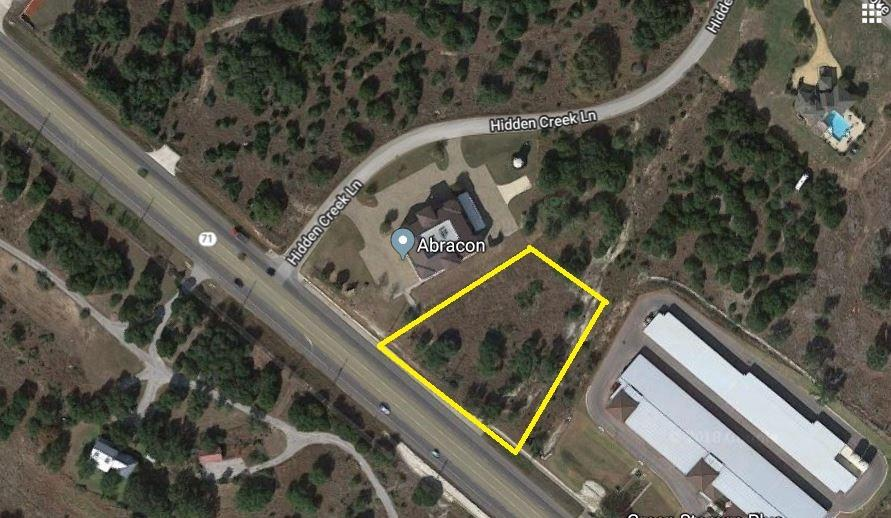 Located near great restaurants and shopping, this opportunity is at the center of the latest hustle and bustle on Hwy 71. Surrounded by new developments, West Cypress Development, hill county views, overlooking Sweetwater and with fast access to Lakeway and Bee Cave. Don't wait to move your traffic this direction.