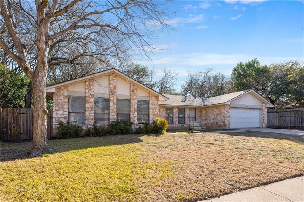 Blank canvas for buyer looking to put their own touch to a home in a great location! Walking distance from K-12 schools Westwood High School. 2 pools, basketball court, dog park, playgrounds, soccer/baseball fields all walking distance in the neighborhood! Mature trees throughout the neighborhood.