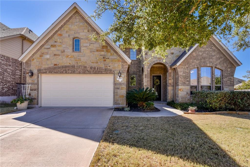 "Stunning two story home in the beautiful community of Highlands of Crystal Falls. This home has it all - the perfect floor plan w/ 3,545 sq ft, 4 beds (2 down, 2 up), 4 full baths (2 down, 2 up), game room, media room, dedicated office. Sprawling 18"" tile floors catch your eye as you enter the grand foyer. On the right side of the foyer is the guest suite w/bath & a beautiful wrought iron staircase which draws your eye to the second floor. Home features a chef's kitchen w/center island, abundant cabinetry, stainless-steel appliances, gas cooktop, large walk in pantry & granite countertops. A corner gas fireplace anchors the great room which features a wall of windows allowing the natural light to shine through with a beautiful view of the custom patio. The second floor features 2 additional bedrooms, each with their own bathroom, a large game room/family area to gather together & large open media room. The gorgeous covered patio has been extended down and includes hot tub and fire pit."