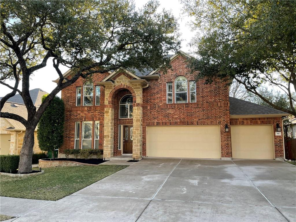 Fully renovated BEAUTIFUL home! A must see. Outdoor grill/ kitchen area, fire pit, and hot tub. Pet friendly turf installed in the backyard. Backs to green space with quick access to Brushy Creek Park. Dogs crated in the garage. Call/ text first, then GO!