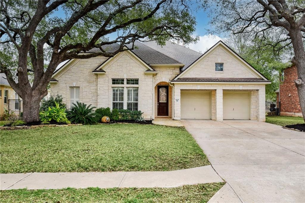 ***UPDATE 2/12 @ 5:00 PM---SELLER HAS RECEIVED MULTIPLE OFFERS.  PLEASE HAVE FINAL/REVISED OFFERS SUBMITTED BY SATURDAY, 2/13 @ 12 PM/NOON***Exclusive executive single story home proudly sitting on a one third acre lot overlooking the beautiful golf course in the sought after Avery Ranch Subdivision. What more could you ask for? How about peaceful views (imagine drinking your coffee while the family of deer feed on t he course in the morning), friendly & lively street, RRISD school district, large family room with an open floor-plan that includes the kitchen & breakfast nook, which is perfect for entertaining. Plus a spacious primary bedroom equipped with lovely windows looking out to the course, private fireplace, and brand new/updated spa like primary bathroom.  There is also a flex room that can easily be converted into a 5th bedroom or private office. This home has so many possibilities! You'll love the high ceilings, relaxed arches and recessed niches. Gourmet kitchen with granite and stainless appliances, & tons of storage. The home has so many updates as well including two BRAND new AC units & outdoor kitchen/BBQ. The community features amazing nature walks, multiple pools & wonderful amenities. You have to come see the most beautiful Texas oaks in the area!  These amazing trees are invaluable & frame the front of the home delicately giving the property a special something you can't just get anywhere! This home is simply stunning and with all the amazing community amenities, HOA fees are only $155 QUARTERLY!