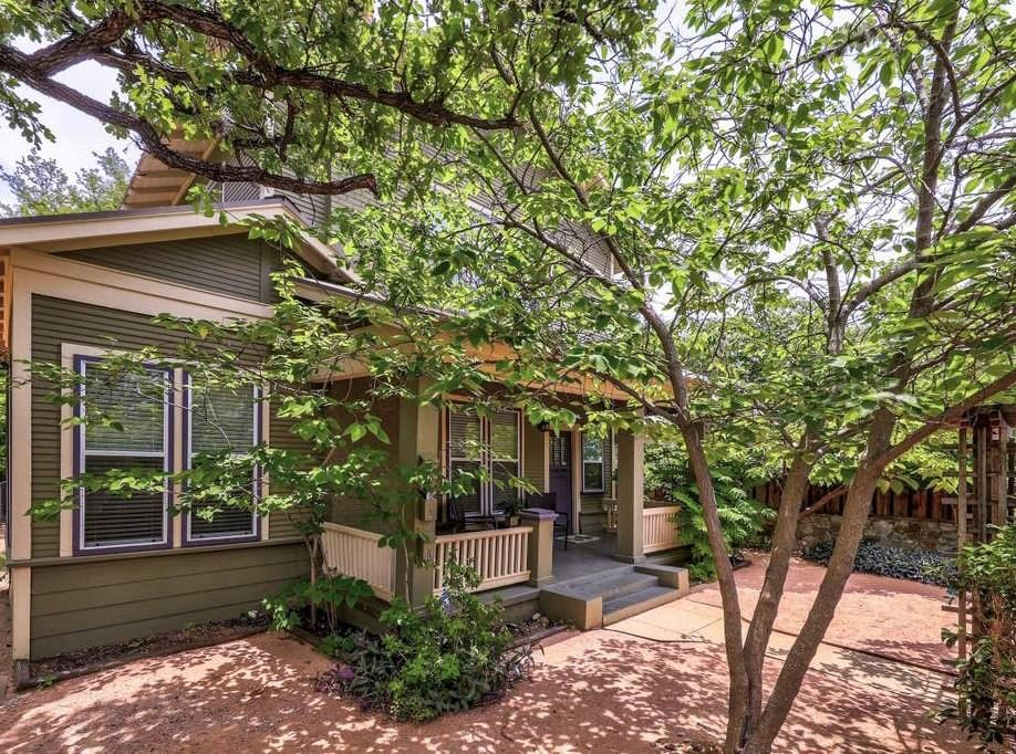 Exclusive high income generating property, all within a large private oasis with 2 buildings and full of mature trees. Zoned commercial to offer many use options for all type of needs. Live in one building and lease the other as STR, residential, or commercial, the choice is yours! 10,000 sqft private lot with both buildings totaling 3650 sqft. All located adjacent to the most popular intersection in East Austin! Includes state of the art recording studio. Get best of both worlds with having your own private oasis get away yet be located in the most popular area in Central Austin. Once in a lifetime opportunity to own such a large and prime piece of real estate in Austin's most hip and fastest growing location. Currently undergoing condo regime process so this property won't be available as a whole much longer. Serious inquiries only, pre-approval letter or proof of funds required prior to showings. Price subject to increase. Contact for more pics.
