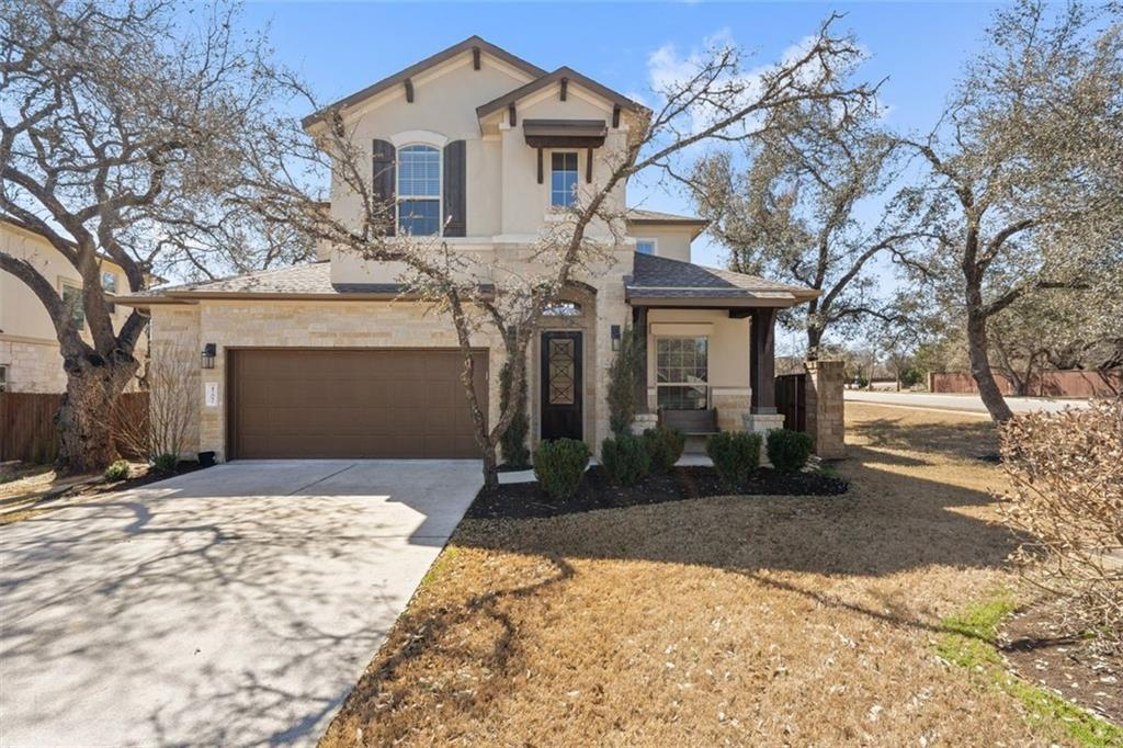 Desirable Ranch at Brushy Creek. Designer kitchen with top of the line appliances, including Marvel built-in refrigerator and double ovens. 4 bedroom 4 bath. Main bedroom, dining, living area, and designated study with built-in shelves downstairs.  3 bedrooms, 2 baths, game room, plus flex room (media/office/other) upstairs. 2+ car garage (with storage area). Oversized corner lot, private backyard with view of walking trail. Beautifully landscaped. Extended stone patio with firepit. Well maintained home, ready to move in. RRISD, Patsy Sommer, Cedar Valley MS and Round Rock HS.
