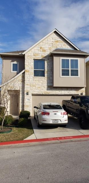 We are in a multiple offer situation and we are asking for everyone's highest and best offer by 1:00 PM the 23rd of February. Fabulous Condo in a great location; close to grocery store; shopping & in gated community.  Beautiful Rock front with landscaped lawn. Down stairs has a wet bar, living area, bath & bedroom; along with a covered patio.  Upstairs features the granite kitchen, dining & living area.  Large landrey with extra storage .  Half bathroom provided.  Primary bedroom leads out to a covered patio.  Large bathroom,Huge walk in closet. Home is in move in condition.  Call tenant for showing;  Covid protocol.  Maintenance free yard; fenced in back.  You will love this area!  Won't last so take a look!