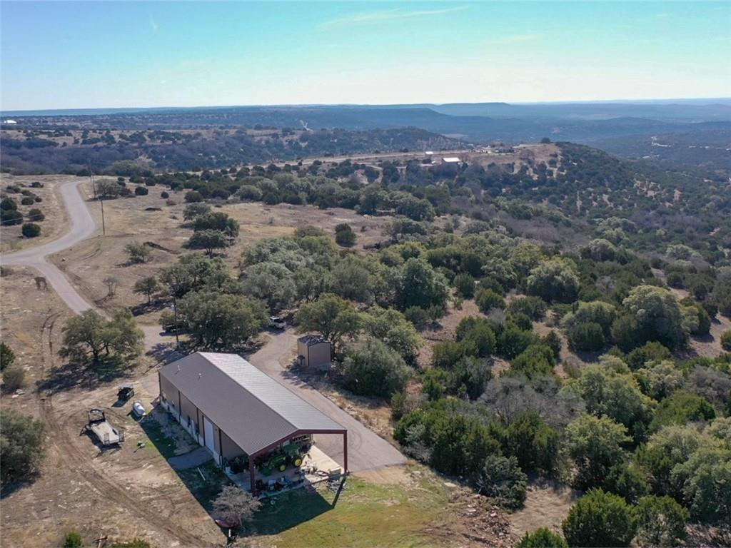 This magnificent 71 acres is less than one hour from Cedar Park, Leander, Georgetown, NW Austin and 20 minutes to Burnet.  Nearby are the Highland Lakes and Horseshoe Bay.  The ranch is in the back of a gated community, yet the property is unrestricted.