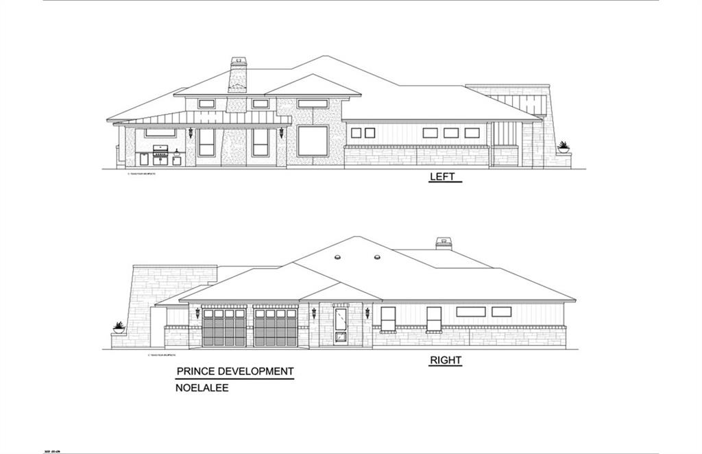"""New construction by Prince Development, on 1 acre, in the new subdivision of Oak Bend Estates in Liberty Hill. This property will be a true custom home with high end finish-outs and features. A custom in-ground gunite pool, approximately 18' x 36' will be built behind rear wrap-around porch. Completion date will be the end of 2021. The photos in this listing are of a similar floor plan that was built by Prince Development. Oak Bend Estates Features include; Exclusive Homes all with Unique Exterior Elevations, Underground Utilities, 23 one acre plus parcels, No Two Homes Will Look Alike, Award Winning Liberty Hill ISD, City of Georgetown Water, Custom Homes with Upgraded Finish-Outs and Modern Open Floor Plans. Standard Features include; Spray Foam Insulation in Attic, 30 Year Architectural Shingles, Low-E Double Pane Windows with Argon Gas, Tankless Gas Hot Water Heaters, SEER 15 Energy Efficient Heat Pumps, Whole-Home Surge Protector at Main Panel, Solar Panel Pre-Wire Setup, Water Loop for Water softener, Pre-Wired For Internet and Cable, Pre-Wired for Electric Car Charger at Garage, Engineered Foundations, Granite/Quartz Counters Standard in all Kitchens and Baths, Stainless Steel Appliances, Over the Range Pot-Fillers, High-end, Quality Cabinets with Dovetailed and Soft Close Drawers, 6"""" Baseboards, 4"""" Casings, Individually Selected Solid Core Doors, Hand Selected Cabinet, Bath, and Mudroom Hardware and Porcelain Under-Mount Vanity Sinks. PEC provides electricity, Spectrum provides internet, Al Clawson provides trash, septic system and propane tank will be on property."""