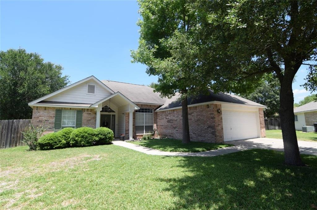 """Beautiful cul-de-sac lot in desirable """"Waterford"""" subdivision.  This 3 bedroom 2 bath home features a main bedroom suite, Split floor plan, walk in closet,  large fenced in back yard with a shed and so much more.  Easy commute to Ft. Hood and Scott and White!  Itls a must see!"""