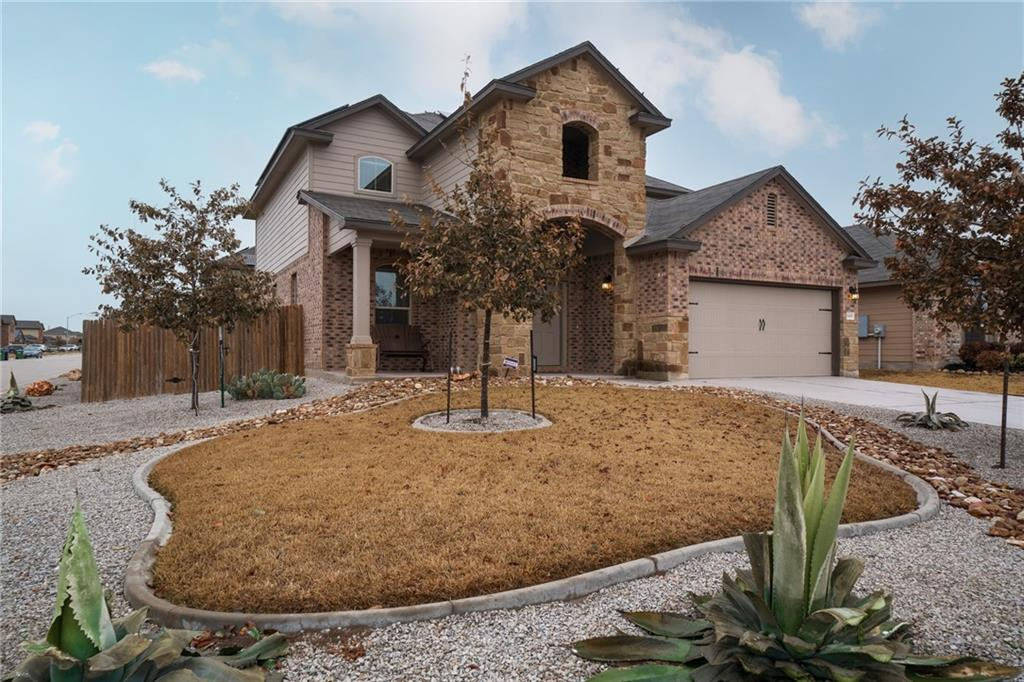 This gorgeous Sonterra West home has been meticulously cared for and is loaded with upgrades. From the Trismart solar panels with a ten-year warranty to the washable and reusable AC filters, every aspect and detail of this home is made to make the homeowner's life easier. Soak up the fresh air from the covered front porch or back patio on those cool spring mornings and evenings. Relish the time spent cooking in the beautiful kitchen, connected to the living area and dining room. The open floorplan is great for entertaining, but it also offers a private owner's retreat downstairs. The three other bedrooms are located upstairs, along with a bonus flex space that could be a second living area, game room, or library — the possibilities are endless. Welcome HOME.