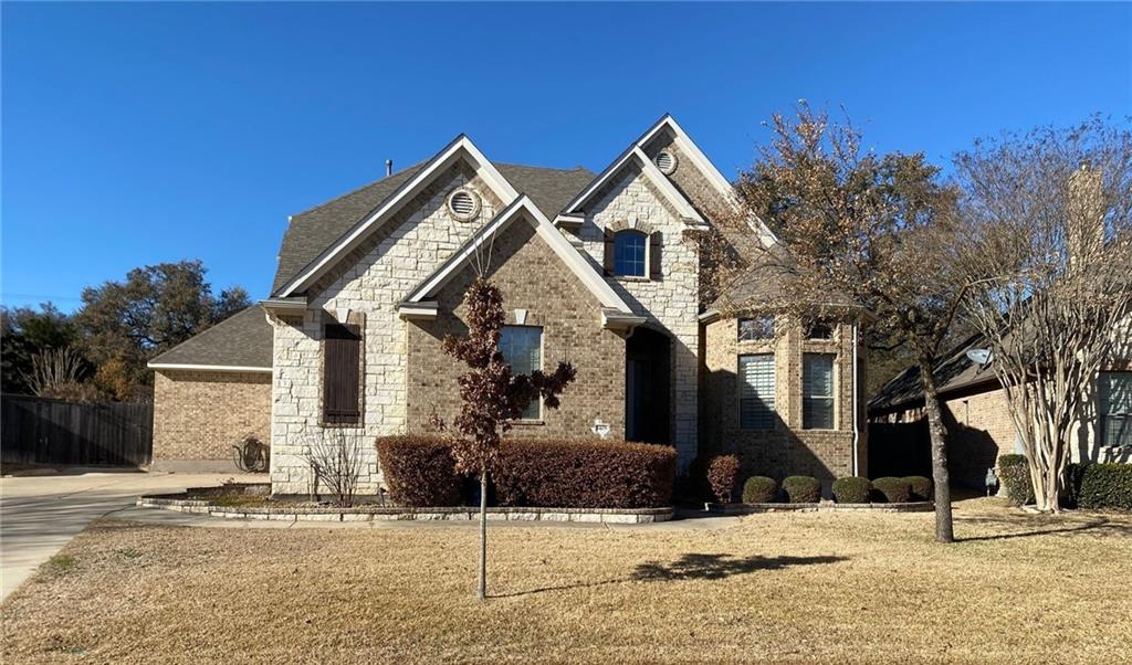 This 4,157 square foot Drees Home located in Walsh Ranch checks all the boxes. Direct access out your back gate to the Brushy Creek hike and bike trail, pool, hot tub, media room, 3 car garage, 5 bedrooms, 4 bathrooms, office, and game area on the upstairs landing. Your backyard is a private oasis with the houses behind your back fence separated by the hike and bike trail and the numerous mature oak trees. There is very little traffic on Tourmaline Trail and your home is within walking distance to Walsh Middle School.