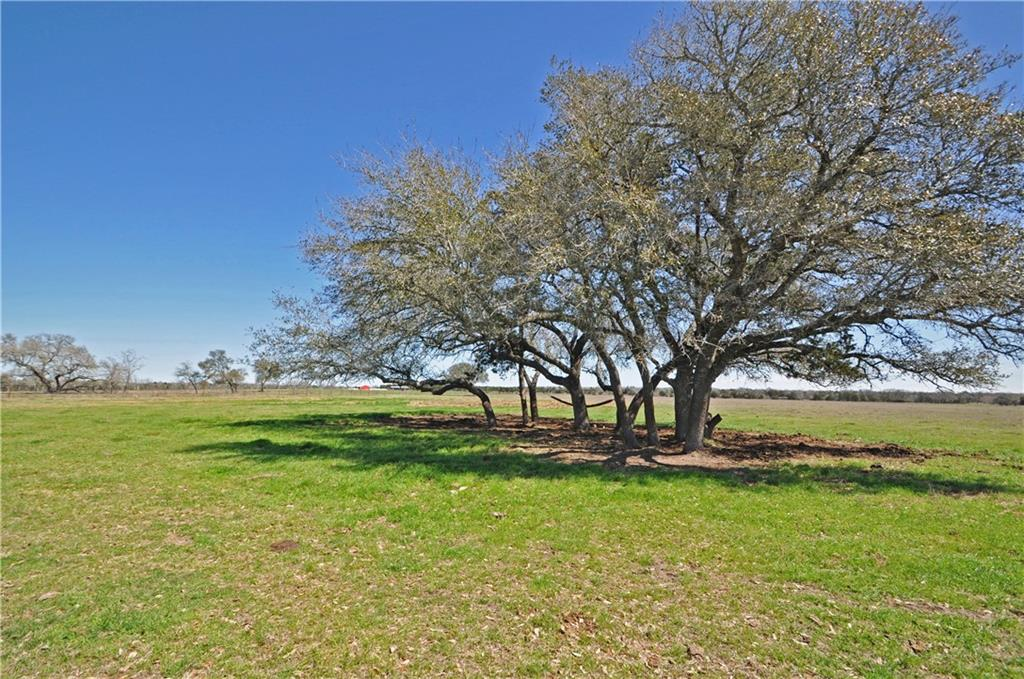 26 acres with gated entrance and fully fenced perimeter. Large oaks at the entrance. Open pasture perfect for planning your dream home. Low taxes - ag exempt. Aqua water meter and electricity on property. Septic needed. Light restrictions to preserve property value: site built, barndominiums and newer mobile homes (2017+) welcome. Not in flood zone. 580+ feet of paved frontage. Conveniently located 10 minutes from downtown Smithville, 45 minutes from the Austin airport and 20 minutes from I-10, giving quick access to Houston and San Antonio. More land available in adjacent tracts at www.kovarcrossing.com.